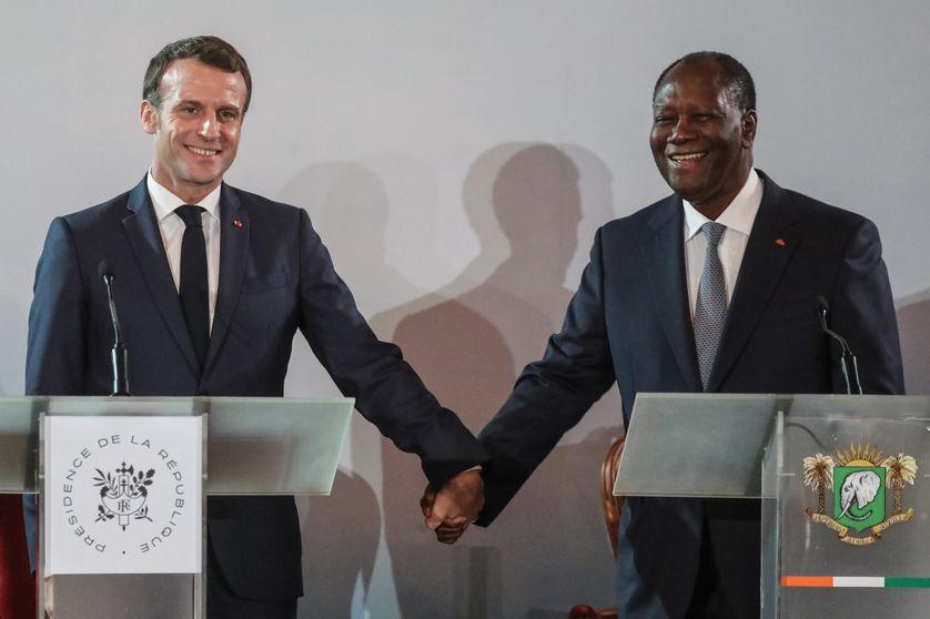Macron félicite Ouattara et appelle à une réconciliation plus large des ivoiriens