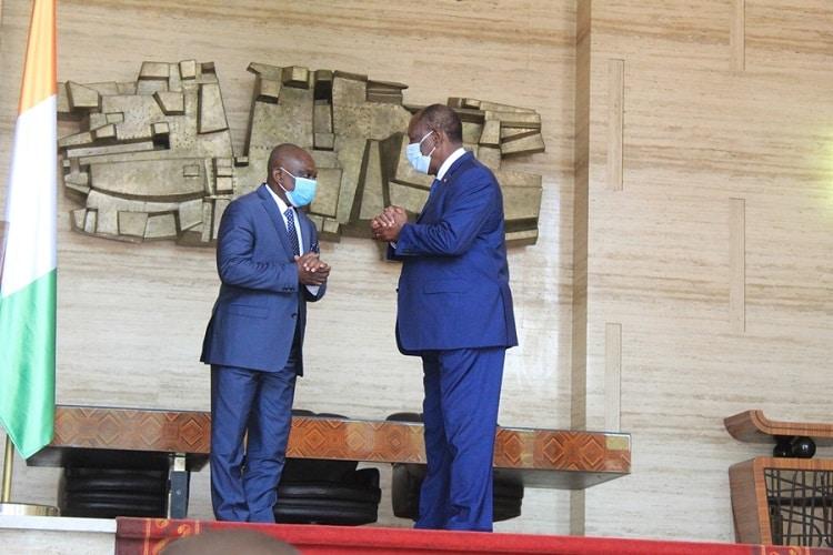 Ouattara et KKB tirent les « leçons » du scrutin présidentiel ivoirien
