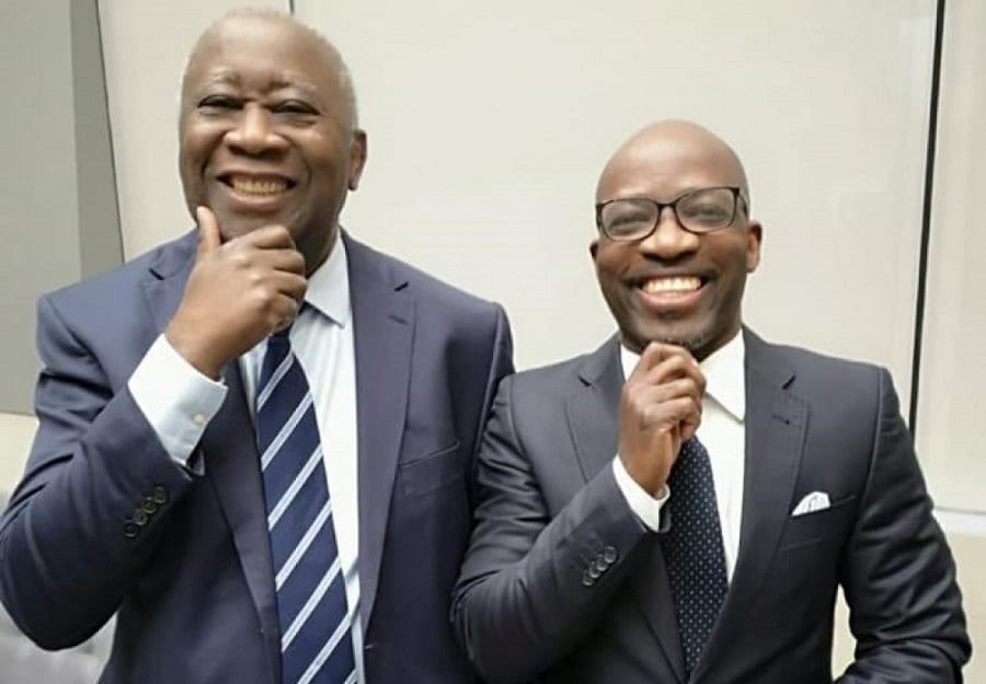 Gbagbo et blé goude