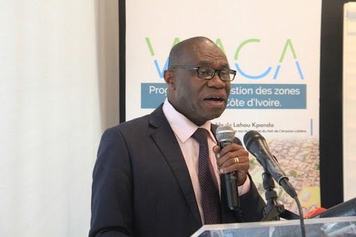 Le professeur Ochou Delfin, le coordonnateur du Programme de gestion du littoral ouest africain ( WACA)