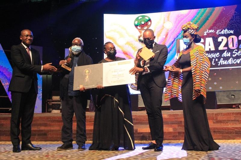 le réalisateur ivoirien Idriss Diabaté lauréat de la NISA d'Or 2021