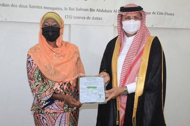 75 tonnes de dattes de l'Arabie Saoudite à la Côte d'Ivoire