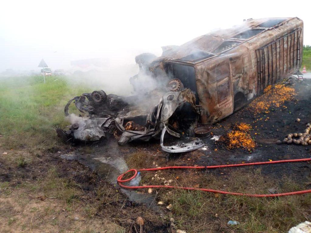 Accident autoroute du nord PK 205