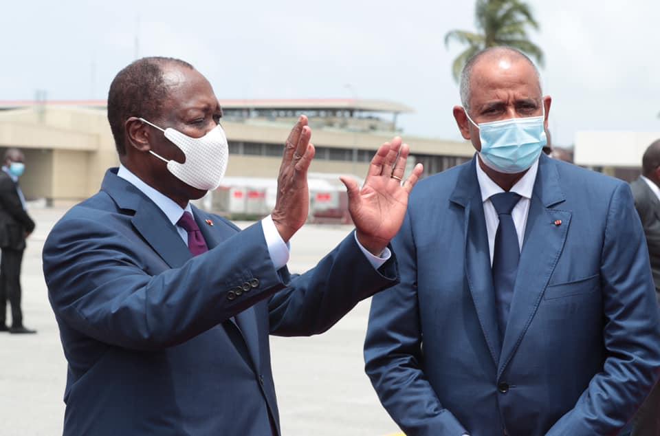 Alassane Ouattara a quitté Abidjan pour la France et le Congo