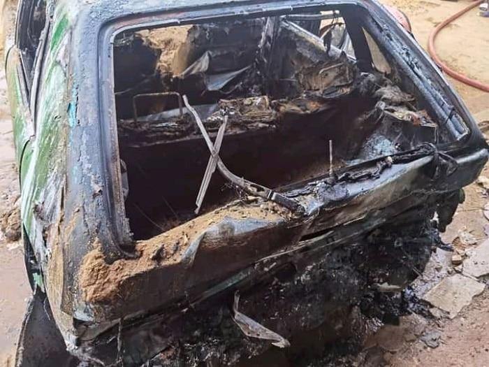 Deux personnes mortes calcinées dans l'explosion d'un taxi à Abidjan