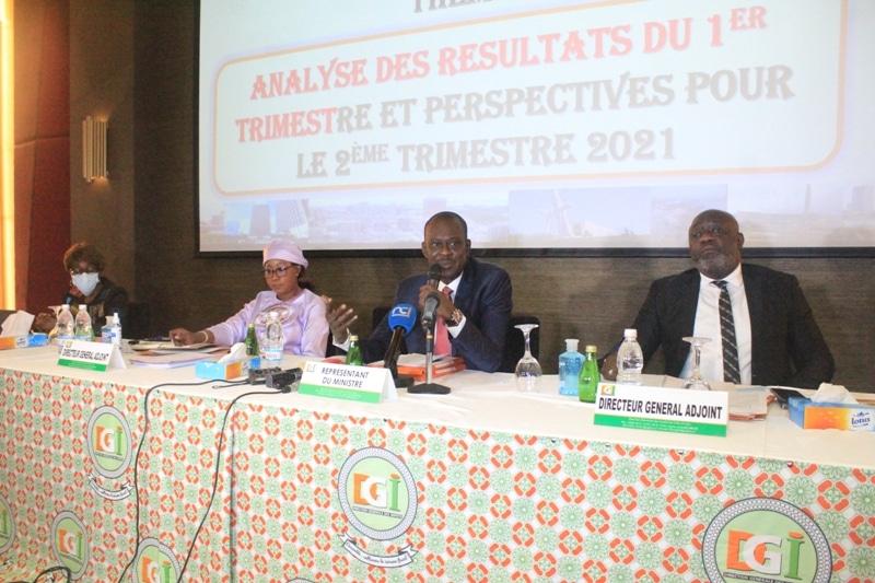 Impôts ivoiriens 639,9 milliards de Fcfa collectés au 1er trimestre 2021