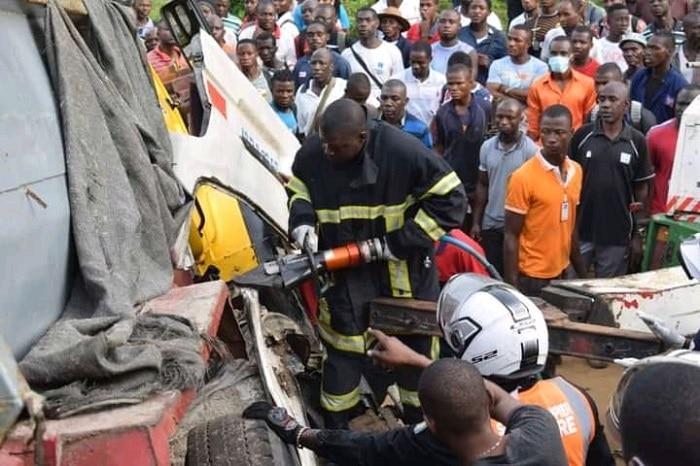 Le bilan de l'accident d'Abobo N'dotré s'alourdit à 10 morts