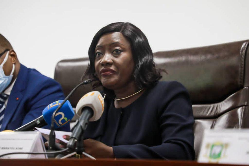 Mariatou Koné annonce les états généraux de l'éducation en Côte d'Ivoire