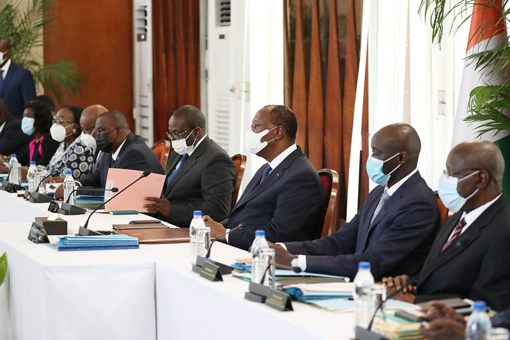 conseil de ministres