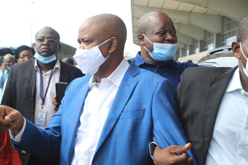 Arrivée à Abidjan de 6 pro-Gbagbo KATINAN
