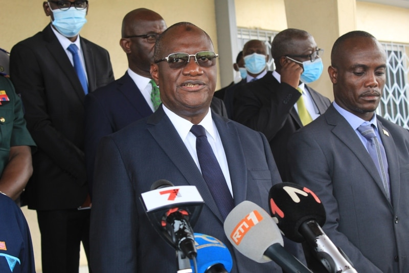 Attaque base militaire Abidjan l'interpellation de Libériens n'est pas une traque ministre)