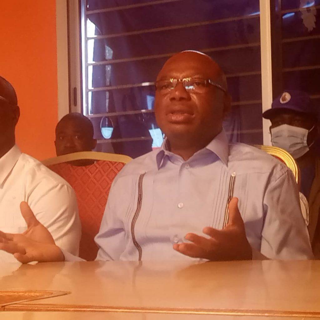 Interdiction meeting du FPI Damana Pickass dénonce une machination