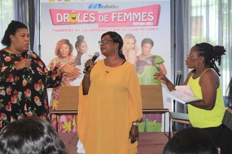 Lancement à Abidjan du 2è spectacle d'humour «Drôles de femmes»