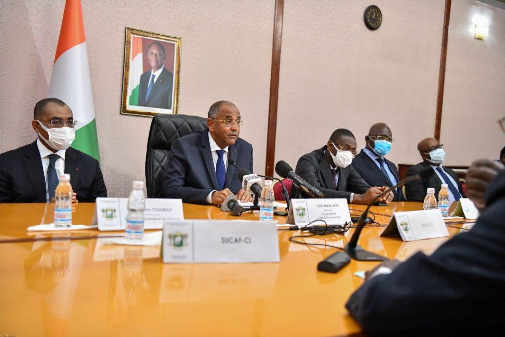 Secteur sucrier ivoirien les acteurs s'engagent à investir 150 milliards Fcfa
