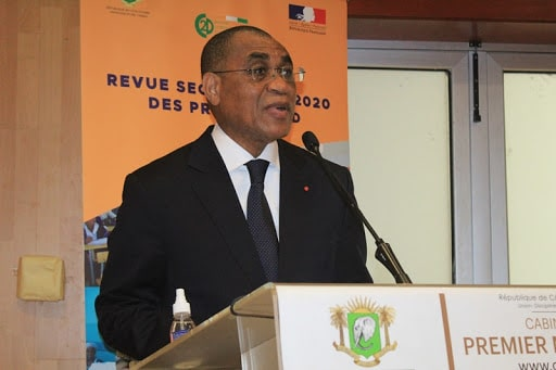 Adama Coulibaly, ministre de l'économie et des finances, Président du comité technique de concertation