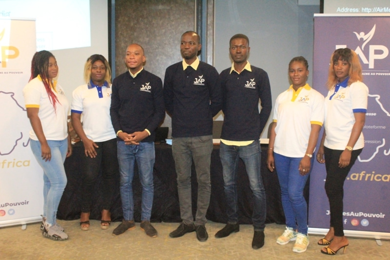 Lancement à Abidjan du mouvement numérique Jeunesse africaine au pouvoir