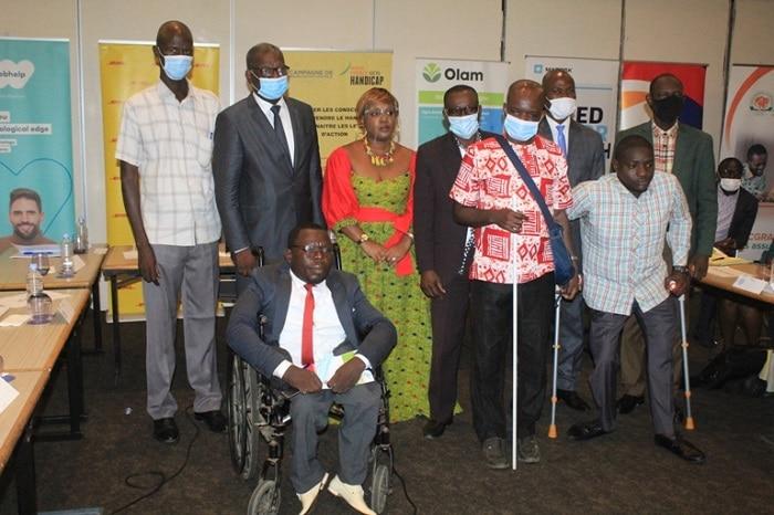 Lancement à Abidjan d'une campagne autour des handicaps invisibles