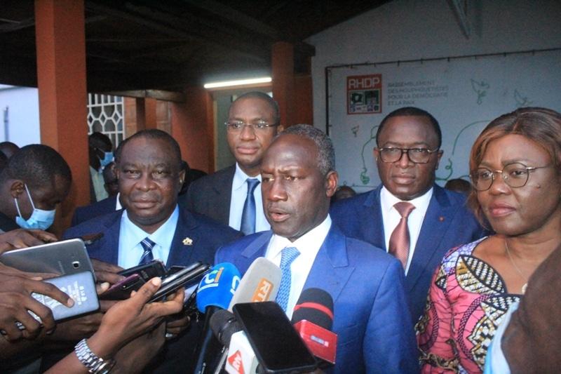 Le Rhdp félicite Ouattara de permettre le retour de Gbagbo en Côte d'Ivoire