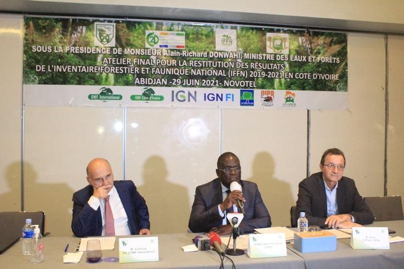 Le couvert forestier ivoirien estimé à 2,97 millions d'ha