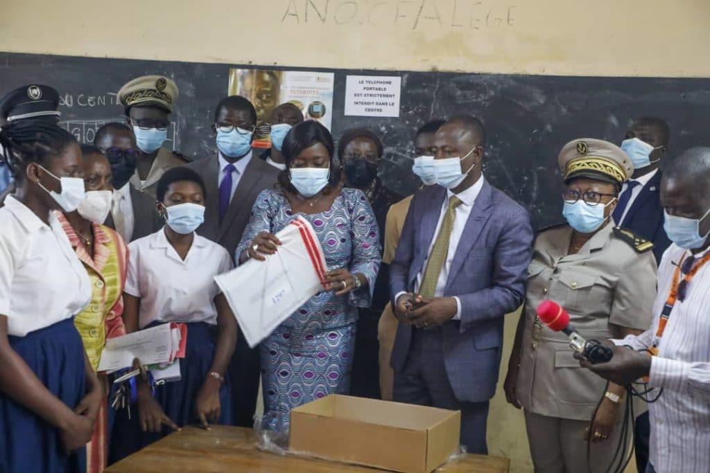 Démarrage des épreuves écrites du Baccalauréat 2021 en Côte d'Ivoire