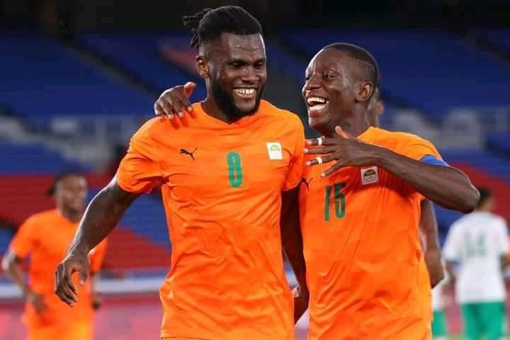 JO Tokyo 2021-Football la Côte d'Ivoire s'impose face à l'Arabie Saoudite (2-1)