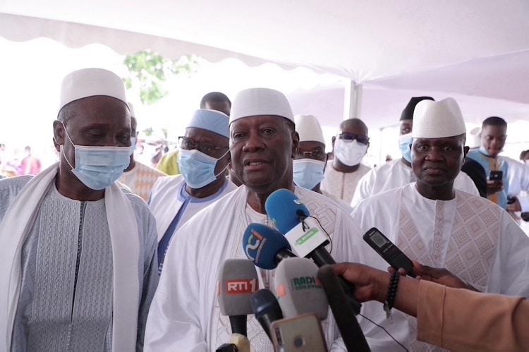 Ouattara prône la paix et la concorde en Côte d'Ivoire