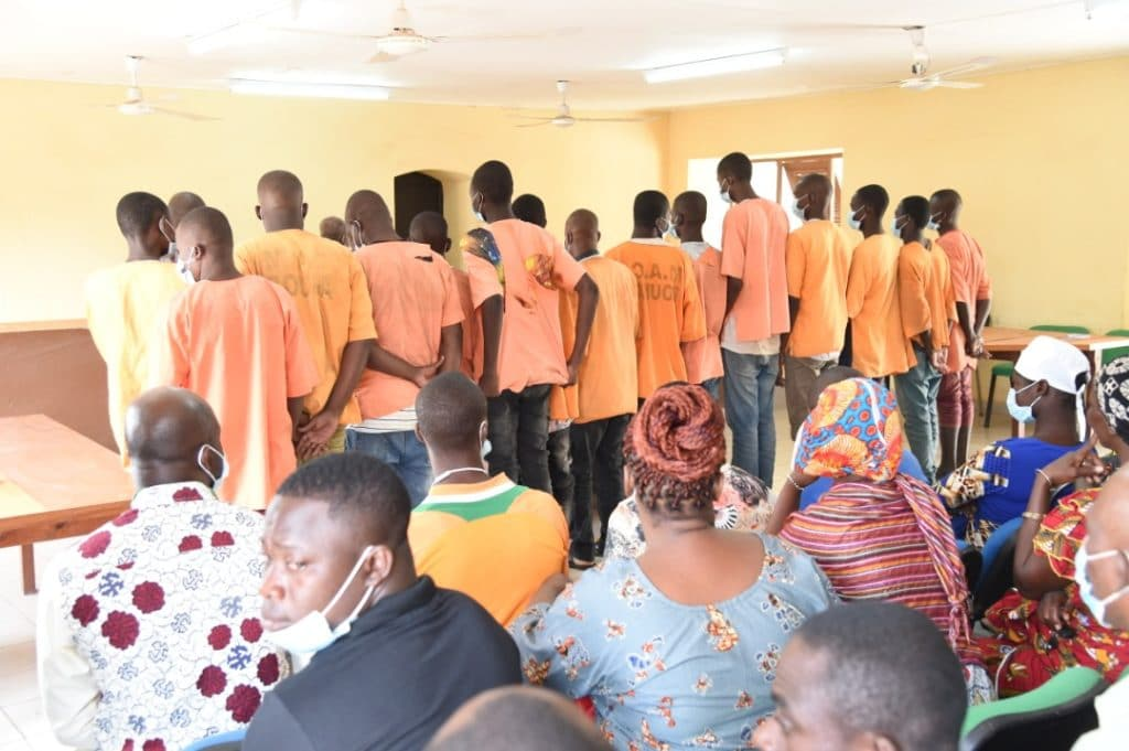 Traite d'enfants 10 personnes condamnées en Côte d'Ivoire
