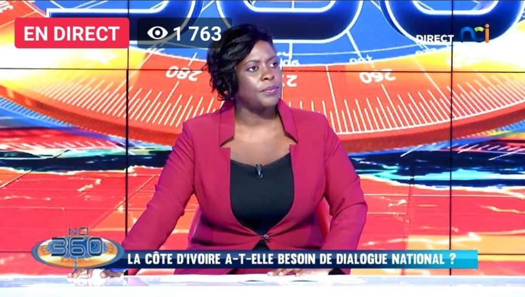 baptême de feu réussi pour la journaliste Evelyne Déba à NCI