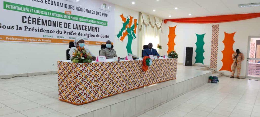 lancement des Journées économiques des PME de Bouaké