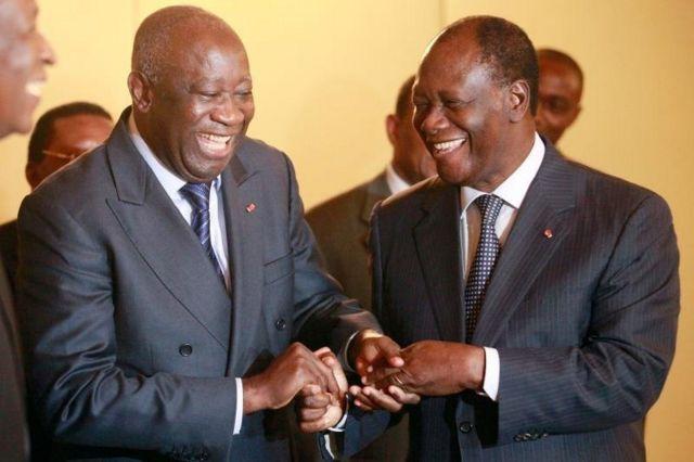tête-à-tête Ouattara-Gbagbo le 27 juillet 2021